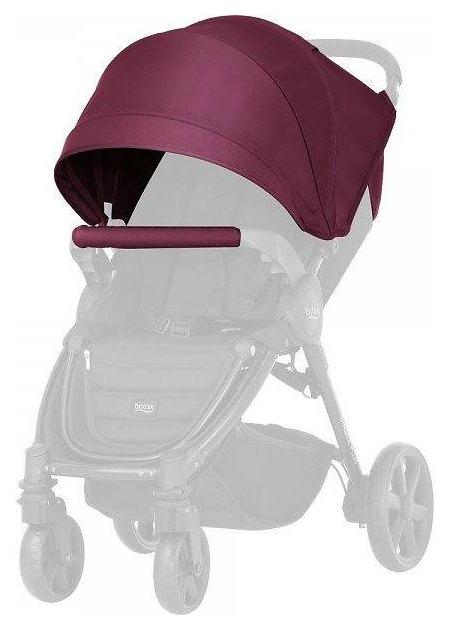 Купить 177405, Капор для коляски Britax B-Agile/B-Motion Wine Red 4 Plus, Britax Romer, Накидки от солнца для коляски