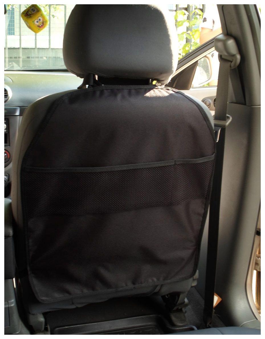 Защитная накидка на спинку переднего сиденья (чёрная)