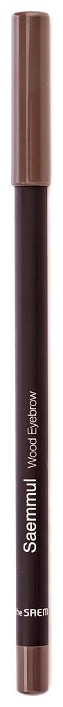 Купить Карандаш The Saem для бровей Saemmul Wood оттенок 02 Gray brown 0, 2 г, для бровей Wood оттенок 02 Серо-коричневый 0