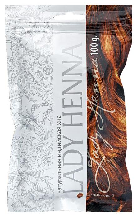 Хна Lady Henna Натуральная Индийская Коричневый