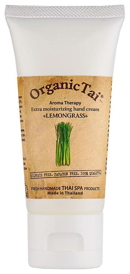 Купить Крем для рук OrganicTai Лемонграсс 60 мл, Экстраувлажняющий крем для рук, Organic Tai