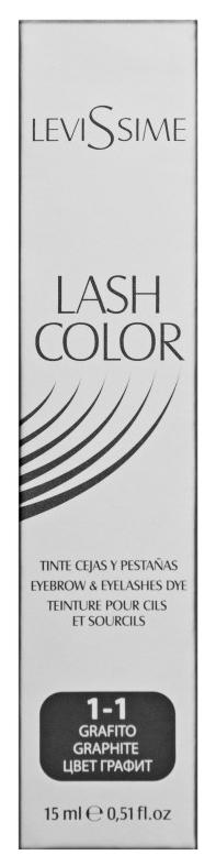 Купить Краска для бровей LeviSsime Lash Color №1.1 Графит 15 мл