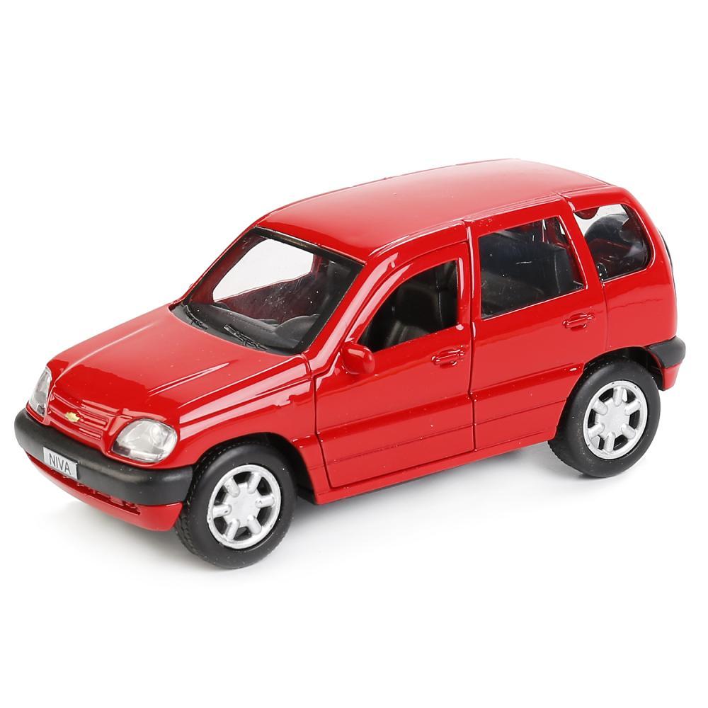 Купить Машинка Технопарк металлическая инерционная chevrolet niva 12 см, Игрушечные машинки