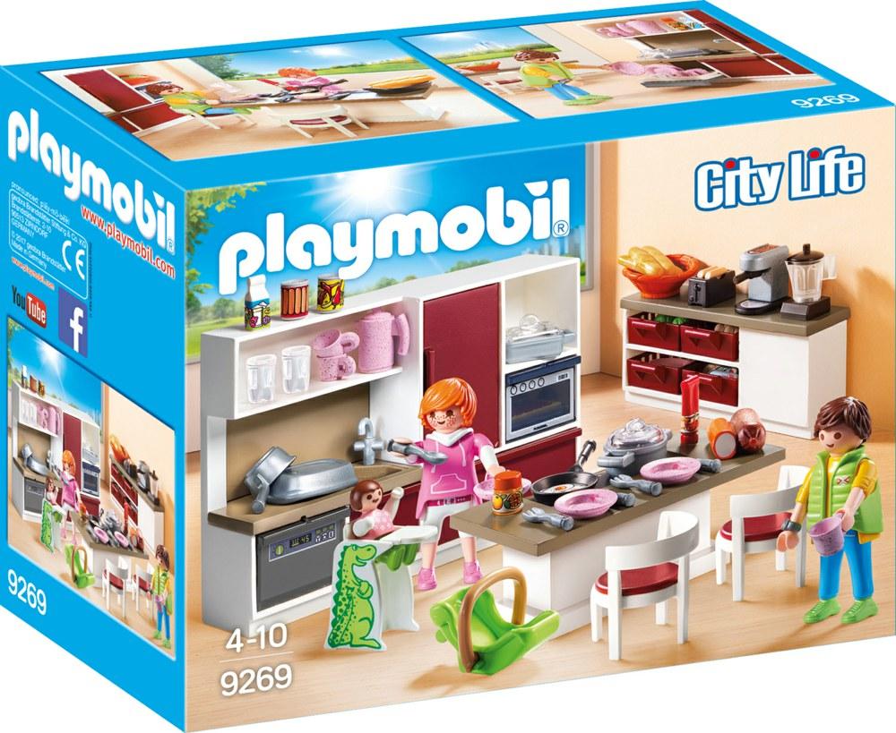 Кукольный дом кухня Playmobil 9269pm