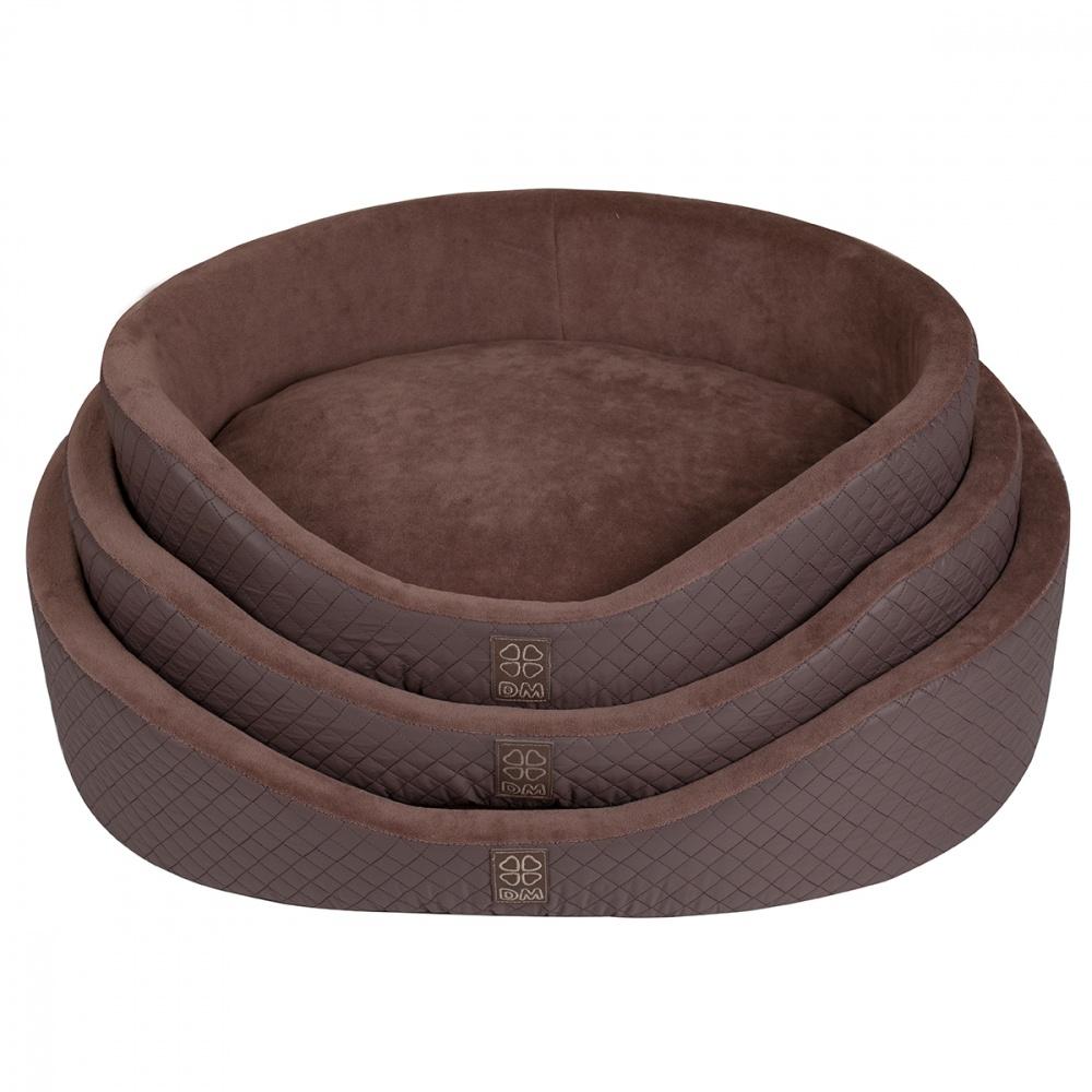Лежак для собак Dogmoda Colour Ирис-3, 60x45x15см