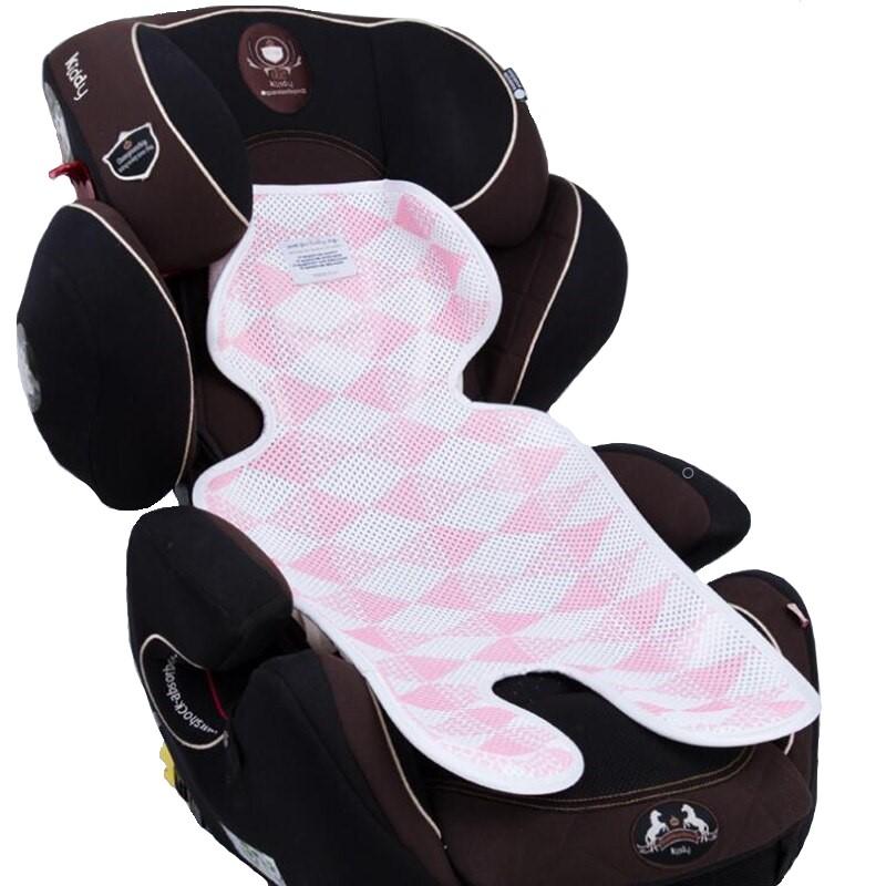Матрасик в коляску Happy Mom дышащий розовый