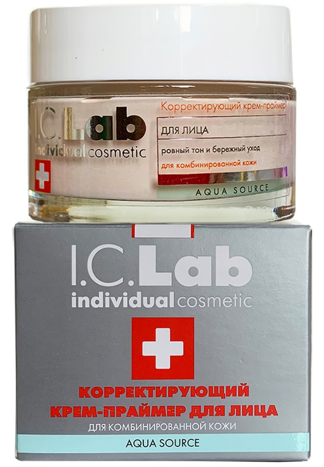 Корректирующий крем-праймер для лица I.C.Lab Individual cosmetic