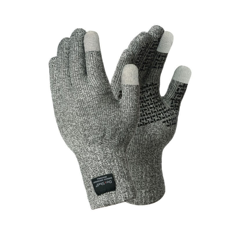 Перчатки мужские DexShell TechShield, серые, XL INT