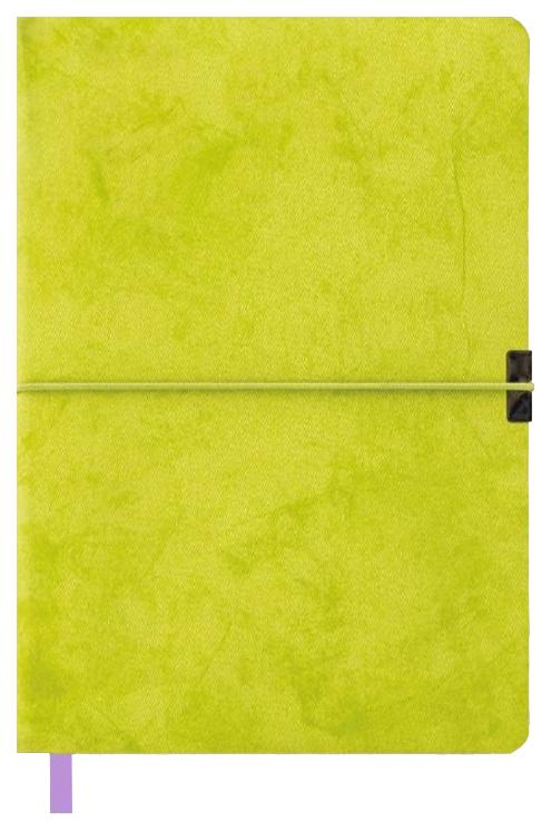 Бизнес-блокнот недатированный Феникс+ (канцтовары) Джинс делавэ, А5, 96 листов, Зеленый