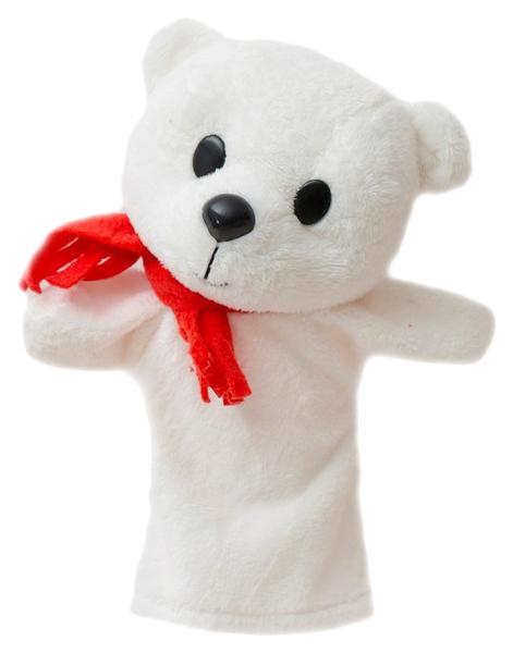 Кукла для кукольного театра Белый Мишка,
