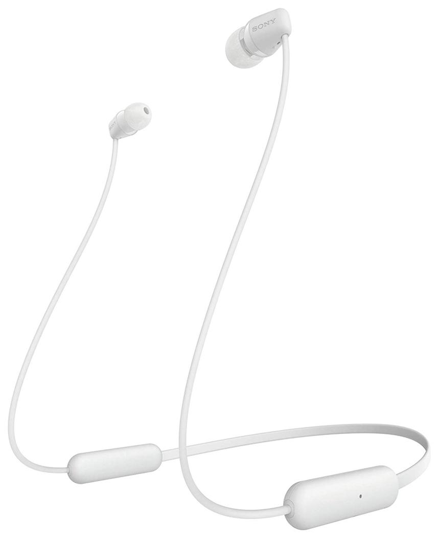 Беспроводные наушники Sony WI-C200 White