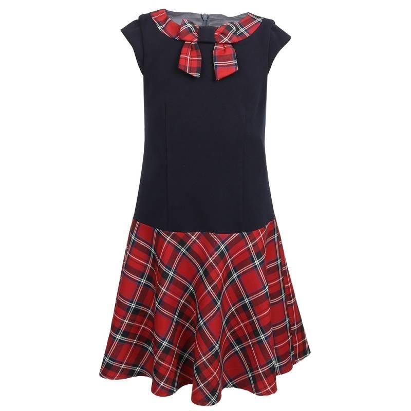 Купить Платье SkyLake, цв. красный, 146 р-р, Детские платья и сарафаны