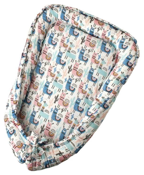 Купить Подушка-Позиционер для сна AmaroBaby кокон-гнездышко, LITTLE BABY ЛАМЫ, Детские подушки