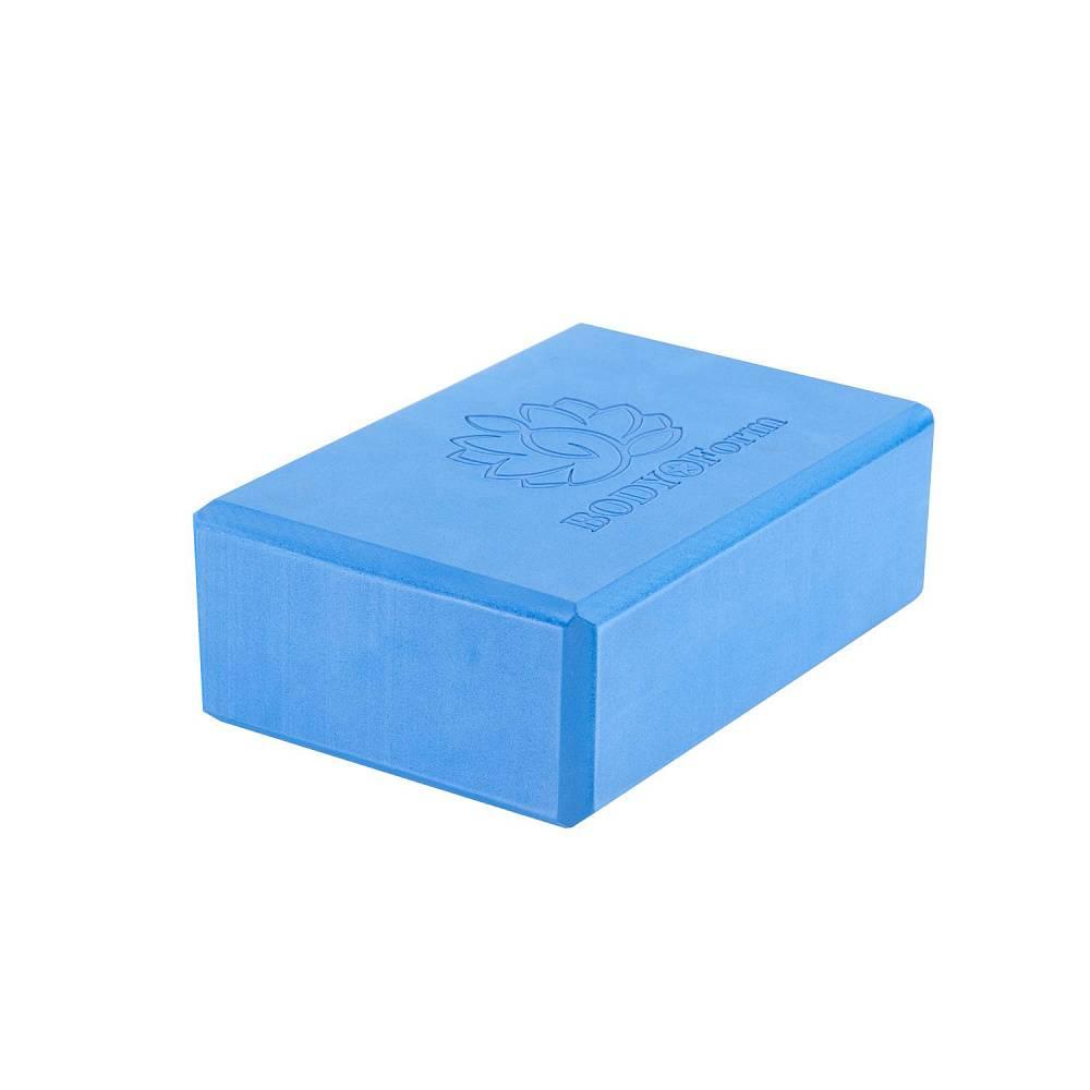Блок для йоги BF YB02 синий