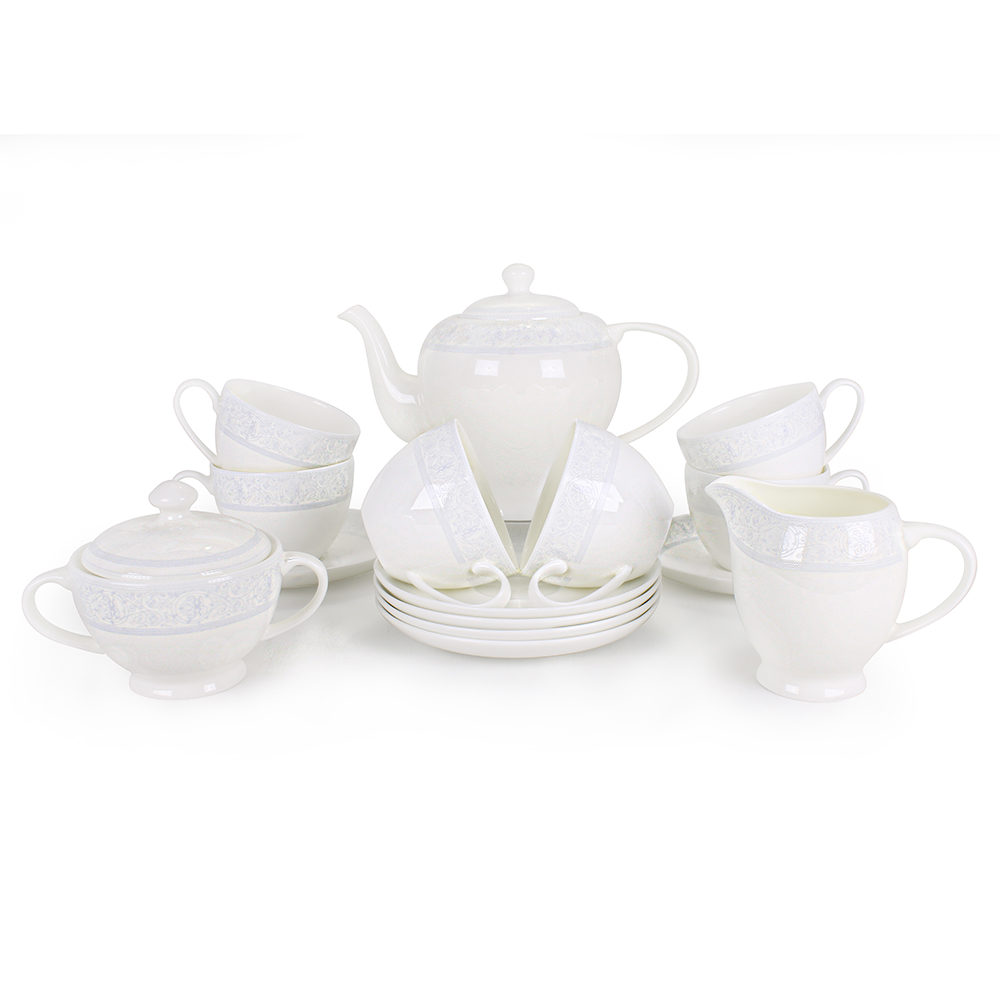 Чайный сервиз АККУ Дионис Грей 15 предметов