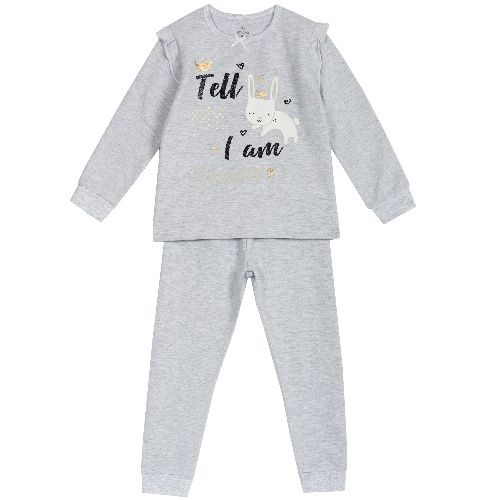 Купить 09031270, Пижама детская Chicco, цв. серый р.122,