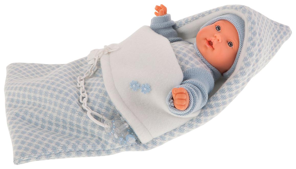 Купить Кукла Мерсе , в голубом в конверте (27 см), Antonio Juan,