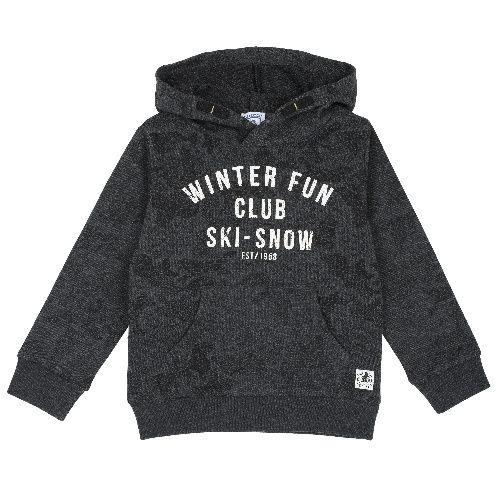 Купить 9069394, Толстовка Chicco для мальчиков р.92 цв.темно-серый, Кофточки, футболки для новорожденных