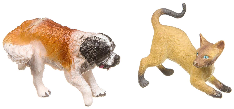 Купить Набор пвх кошка с собакой серия Мир вокруг нас РАС 16 5?14 5 см 6 видов арт.M7593-16., Yako Toys,
