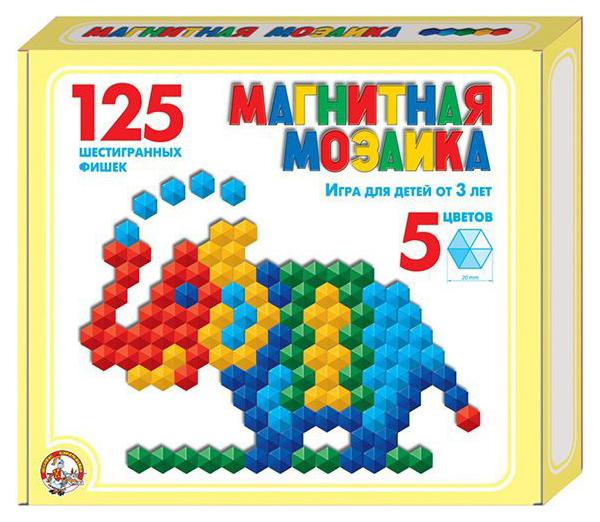 Дидактическая игра Тридевятое царство 962 Мозаика Магнитная