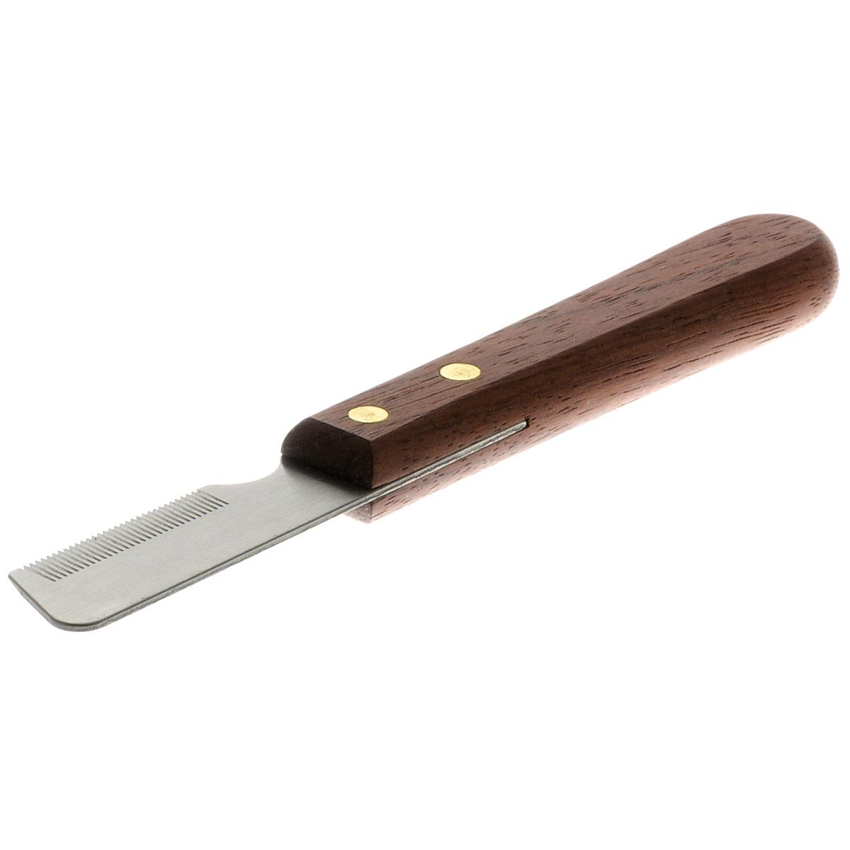 Тримминг Hello Pet с деревянной ручкой, 33 длинных