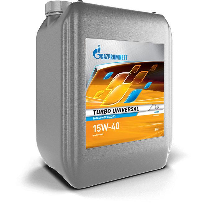Моторное масло Gazpromneft Turbo Universal 15W