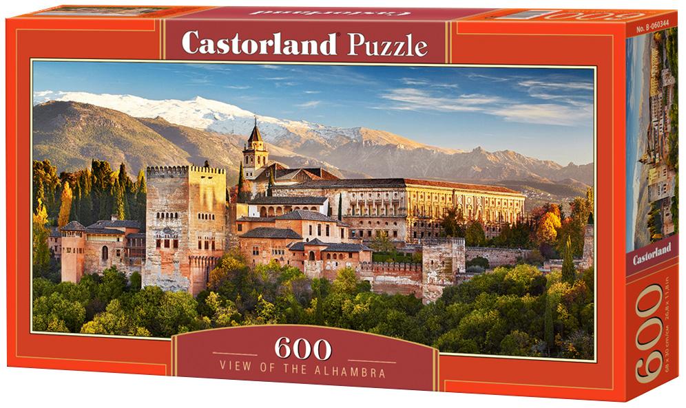 Купить Пазл Castorland 600 деталей,