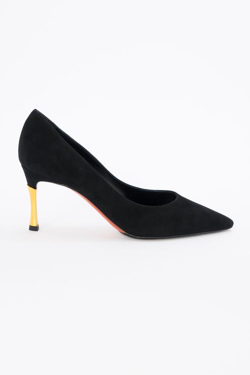 Туфли женские Baldinini 904140P72ECABY0000 черные 38 RU фото