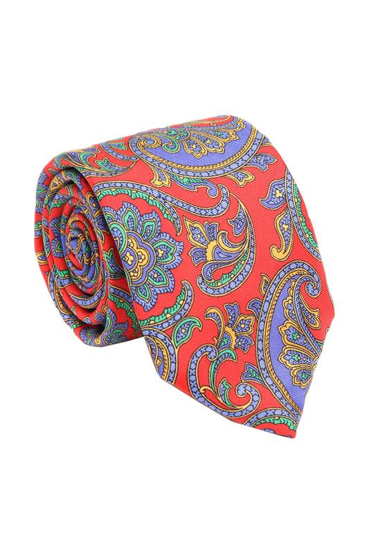 Галстук мужской Ascot 3017 разноцветный