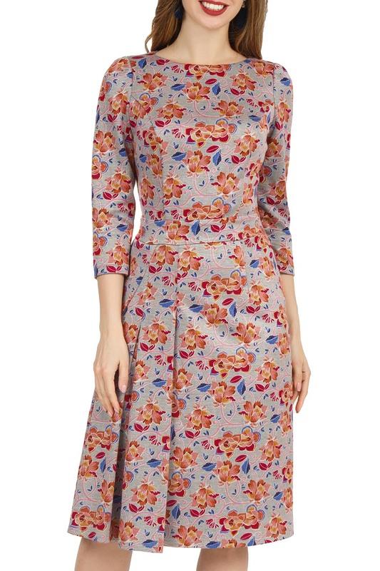 Платье женское Olivegrey PL000048Z(LIKA) розовое 44 RU фото