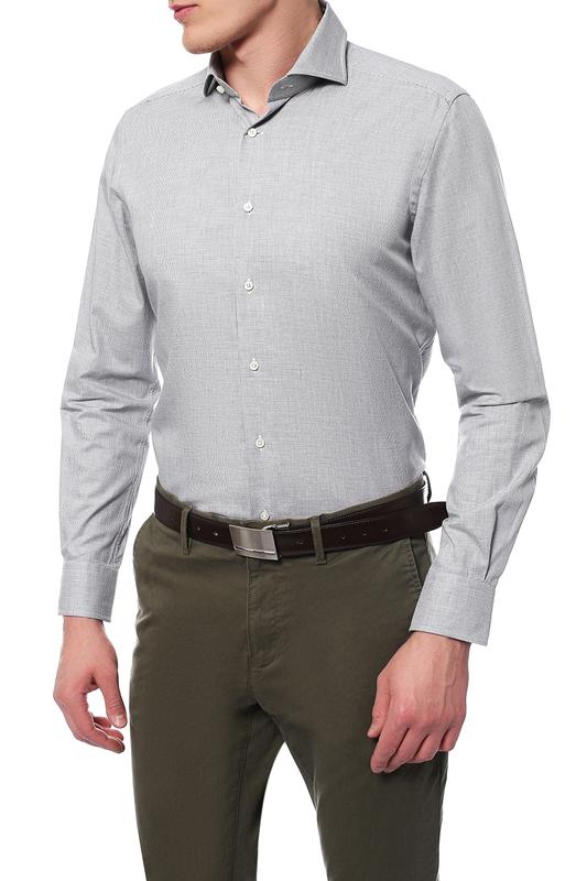 Рубашка мужская Windsor 10004177_035_30007179 серая 40 DE фото