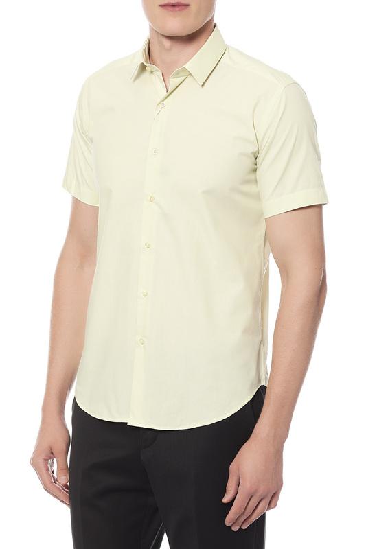 Сорочка мужская Van Cliff 14802 желтая XS
