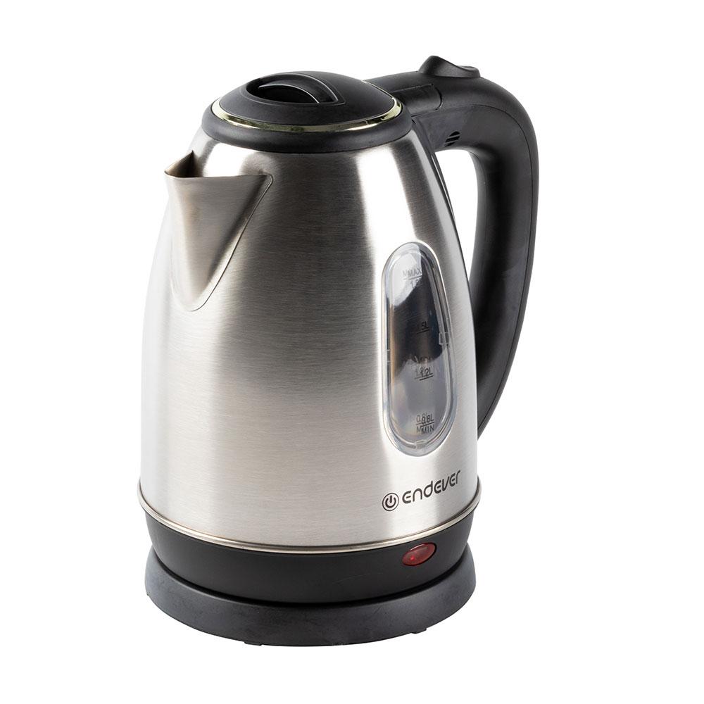 Чайник электрический Endever Skyline KR-220S Silver/Black