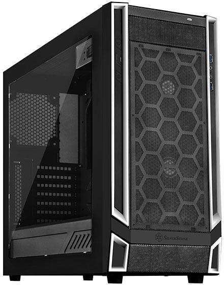 Корпус компьютерный SilverStone SST RL05BW W