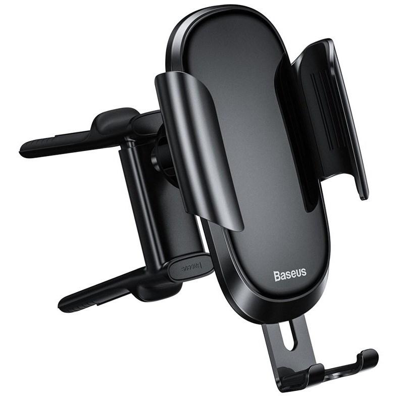 Автомобильный держатель для телефона в дефлектор Baseus Future Gravity Round Air Outlet
