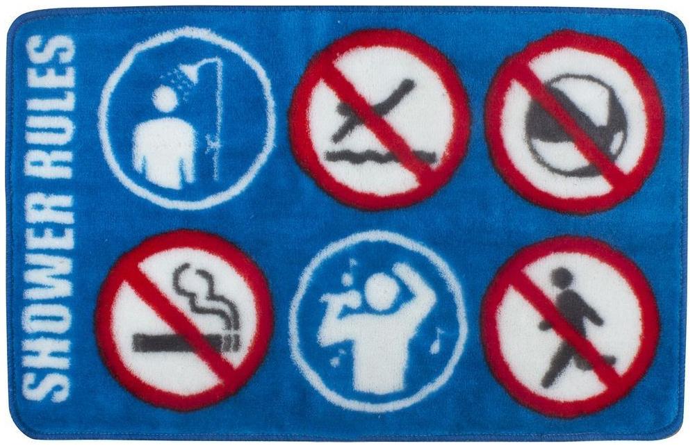 Коврик для ванной Balvi Shower Rule 25866