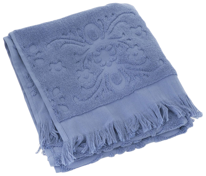 Банное полотенце, полотенце универсальное Arya голубой