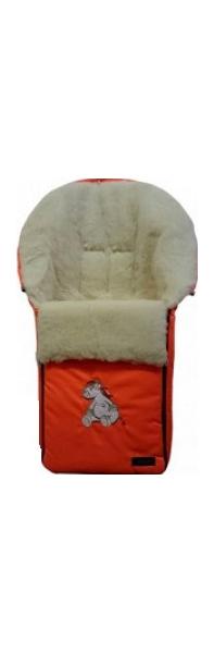 Купить Спальный мешок в коляску Womar Sleepy Bear №3 2 Оранжевый, Конверты в коляску