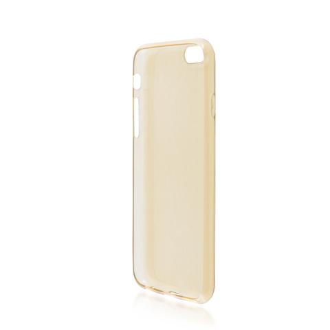 Силиконовый чехол Brosco для Apple IPhone 6 Plus, золотой