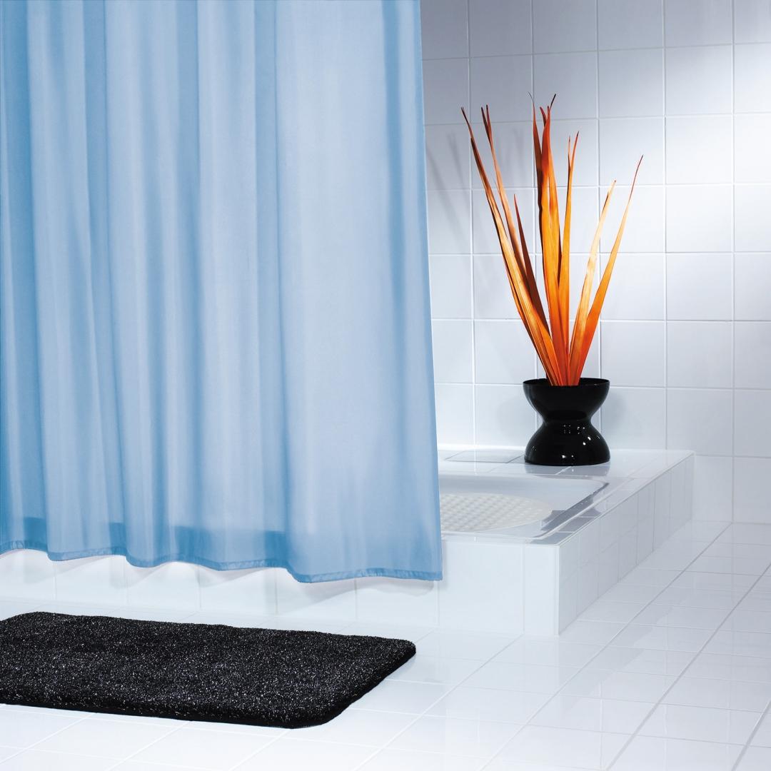 Штора для ванных комнат Uni (Т) синий/голубой