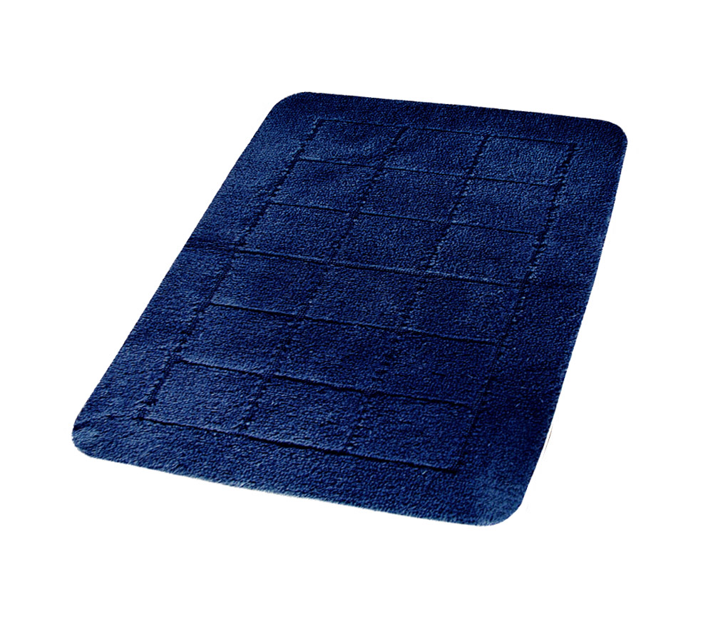 Коврик для ванной комнаты Delhi синий/голубой 50*80,
