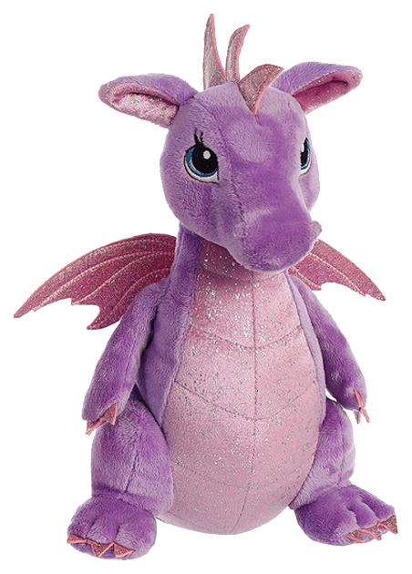 Мягкая игрушка Aurora Cuddly Friends Дракон фиолетовый 30 см 170415B фото