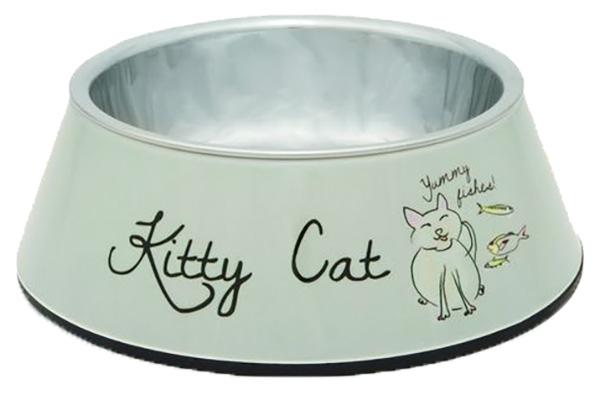 Одинарная миска для кошек I.P.T.S, пластик, резина,