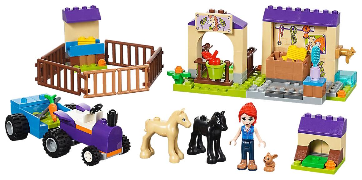 Купить Конструктор lego friends 41361 конюшня для жеребят мии, Конструктор LEGO Friends 41361 Конюшня для жеребят Мии,