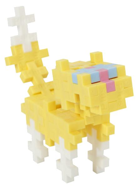 Купить Конструктор пластиковый Plus Plus Разноцветный для создания 3D моделей б3754, Конструкторы пластмассовые