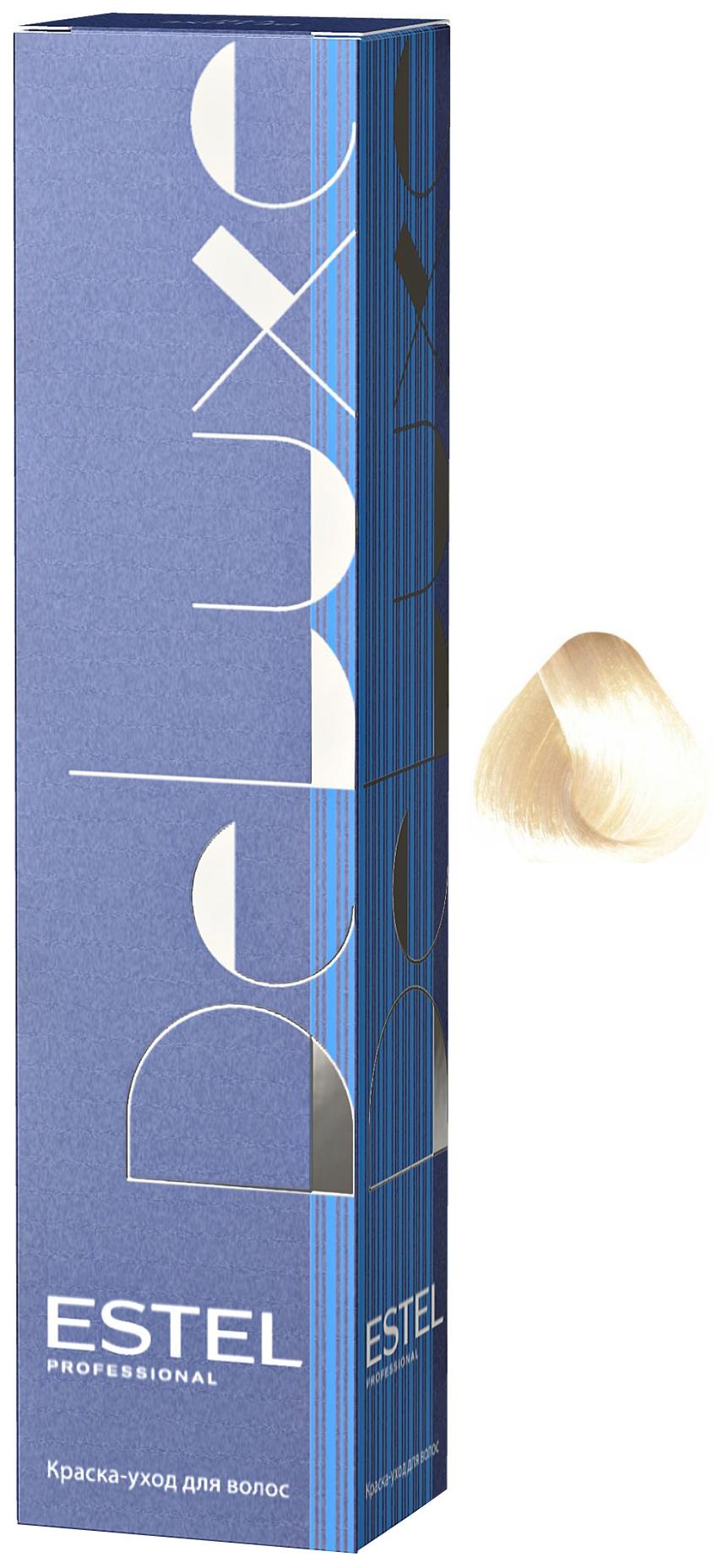 Краска для волос ESTEL De Luxe 10/76 Cветлый блондин коричнево-фиолетовый 60 мл