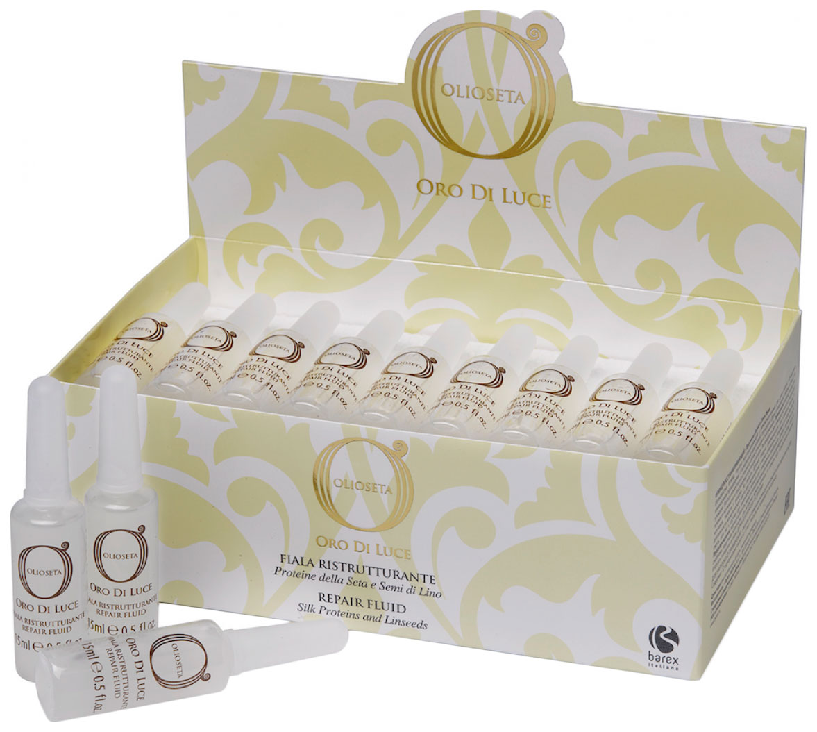 Флюид для волос Barex Italiana Olioseta