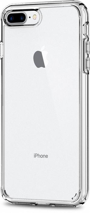 Чехол Spigen Ultra Hybrid 2 (043CS21052) для iPhone 7 Plus (Crystal Clear)
