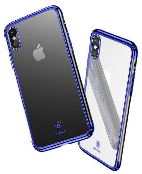 Чехол Baseus Minju (WIAPIPHX-MJ03) для Apple iPhone X (Blue)