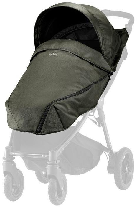 Купить Капор и накидка для коляски Britax B-Agile, B-Motion 4 Plus Olive Denim, Britax Romer, Капюшоны на коляску